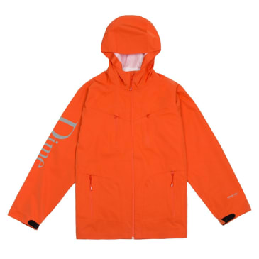 Dime Classic Logo Shell Jacket - Orange