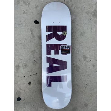 Real Team Bold Series White - 8.5