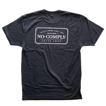 No Comply Locally Grown T-Shirt - Black