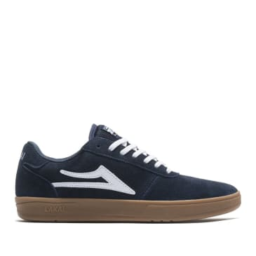 Lakai Manchester XLK Suede Skate Shoes - Navy / Gum
