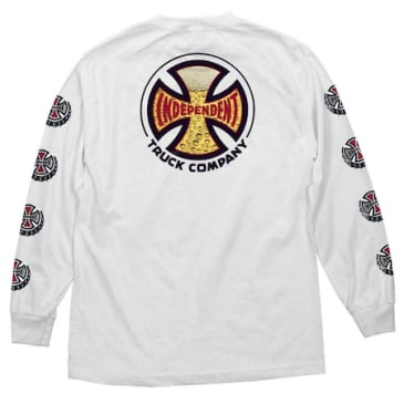 Independent - Suds Long Sleeve Shirt (White)