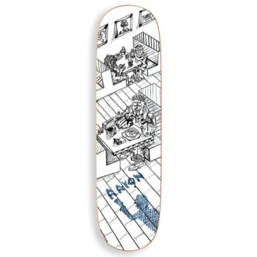 "Polar Skate Co Aaron Herrington Diner Skateboard Deck - 8.5"" P2 Special Shape"