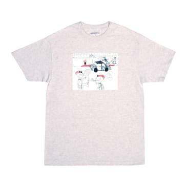 GX1000 Fuck Pizza T-Shirt - Ash