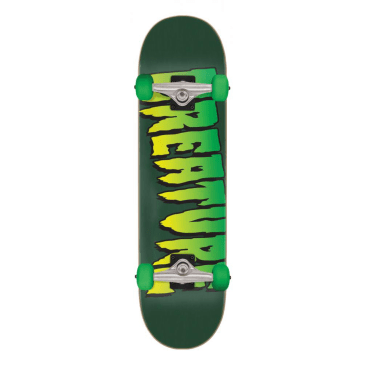 "Creature - 8.0"" Logo Complete Skateboard (Green)"