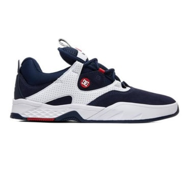 DC Kalis S Navy/White Shoes
