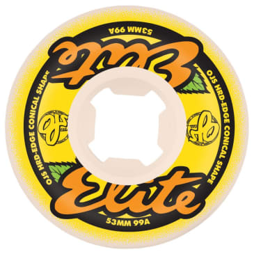 Santa Cruz Skateboards - Elite Hard Edge Wheels 99a 53mm