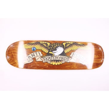 Anti Hero Deck Brown Bomber Shaped Eagle 8.86