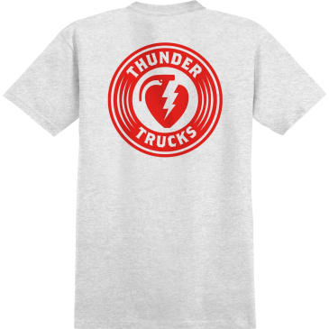 THUNDER Charged Grenade Tee Ash Heather/Red