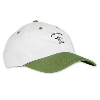 Thrasher Magazine- Gonz Old Timer Hat White Olive