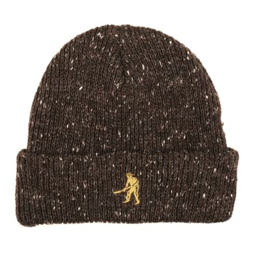 Pass-Port Speckle Workers beanie chocolate