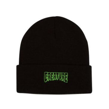 Creature - Logo Outlined Beanie (Black)