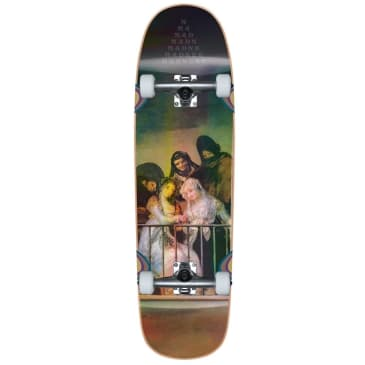 Madness Skateboards Creeper Holographic Custom Complete 8.5""