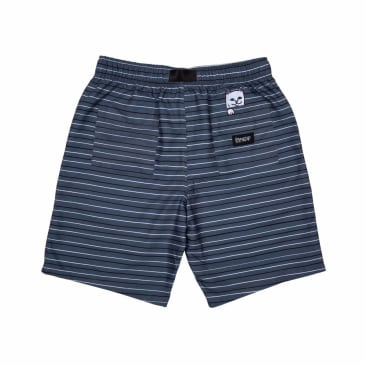 Rip N Dip Peek A Nermal Swim Shorts - Grey / Black / White
