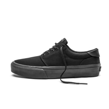 Straye Fairfax Shoes - Black/Black Canvas