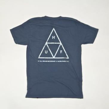 Huf - Hologram T-Shirt - Blue Mirage