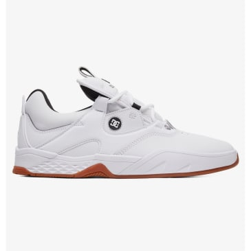 DC Kalis S Skateboard Shoe - White/Black/Gum