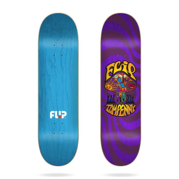 "Skateboards - 8.125"" Tom Penny Loveshroom Stained Purple Skateboard Deck"