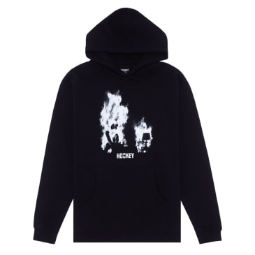 Hockey At Ease Hoodie - Black / White