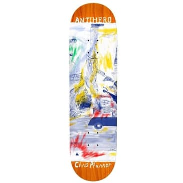 ANTIHERO Pfanner SF Then & Now Deck 8.06