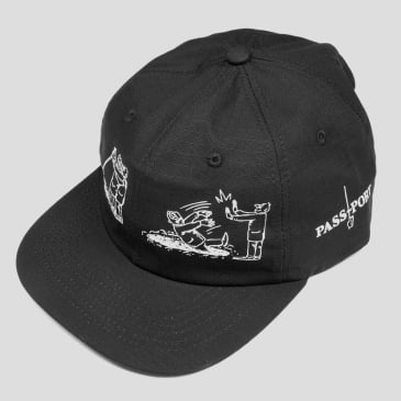 Pass~Port W.C.W.B.F Cap - Black