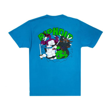Rip N Dip Teenage Mutant T-Shirt - Blue