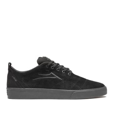 Lakai Bristol Skate Shoes - Black / Black