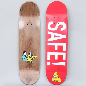 "Palace ""Safe"" Skateboard 8.375"