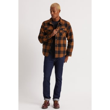 Brixton Bowery Lined Flannel Jacket