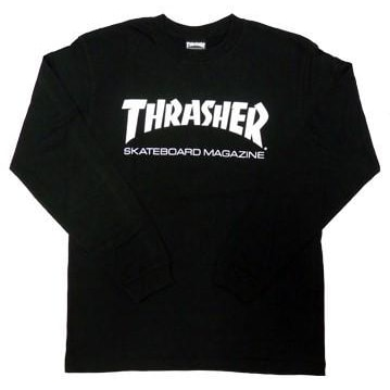 Thrasher - Long Sleeve Shirt (Black)