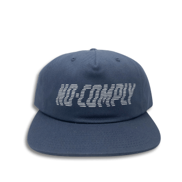 No-Comply Wavy Strap Back Navy