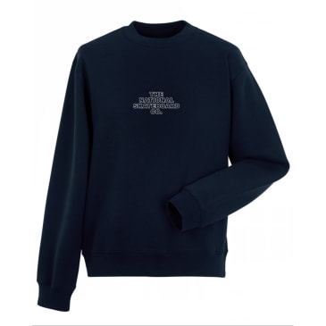 The National Skateboard Co. Classic Logo Crewneck Sweatshirt - Navy