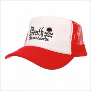 Death Skateboards - Old English Trucker Cap