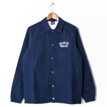 Quartersnacks Canvas Coach Jacket - Navy