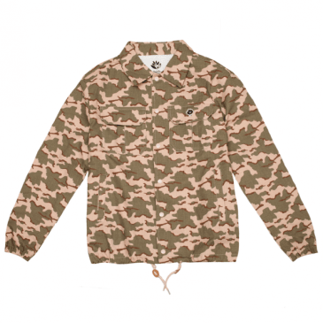 Magenta Skateboards - Cotton Ripstop Coach Jacket Camo