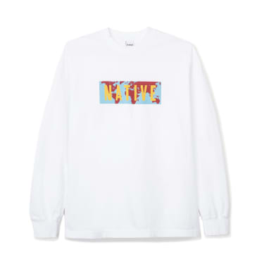 Powers World Native Long Sleeve T-Shirt - White