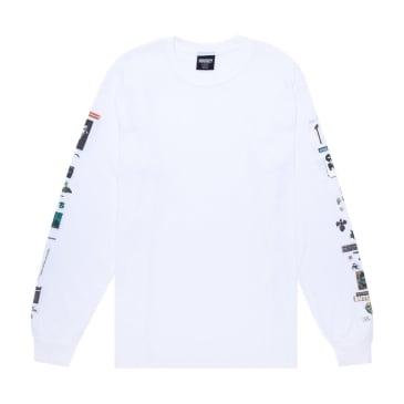 Hockey Summoned Long Sleeve T-Shirt - White