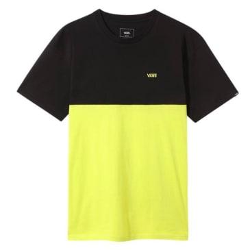 Vans - Colorblock T-Shirt - Sulphur/Spring Black