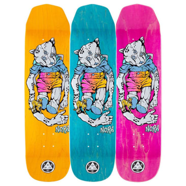 "Welcome Skateboards - Nora Vasconcellos Teddy On Wicked Princess Deck 8.125"" Wide"