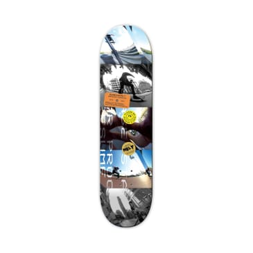 The National Skateboard Co. Gregoire Cuadrado Blobysation Skateboard Deck - 8.25""