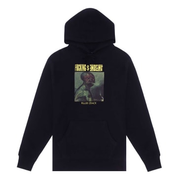 Fucking Awesome Killer Crack Hoodie - Black