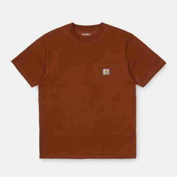 Carhartt WIP Pocket T-Shirt - Brandy