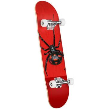 "Mini Logo Poison 242 Black Widow Complete Skateboard - 8"""