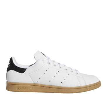 adidas Skateboarding Stan Smith ADV Shoes - FTWR White / Core Black / Gum 4