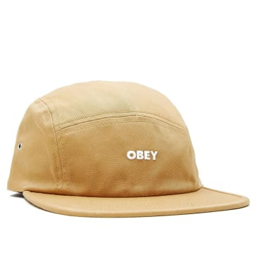 OBEY Future 5 Panel Cap | Duck Brown