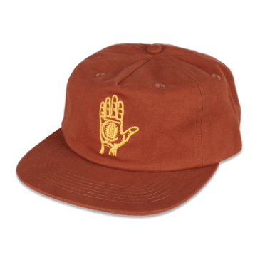 Theories Of Atlantis - Hand Of Theories Cap - Cinnamon / Gold