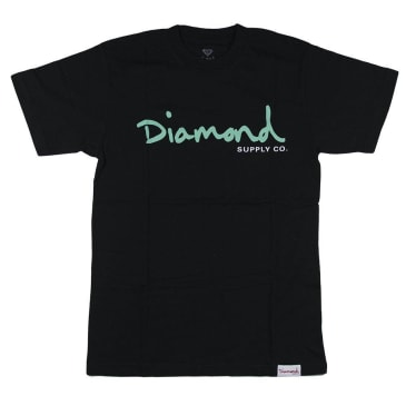 Diamond Supply Co. Script Tee - Black