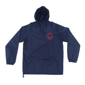 Spitfire Wheels Big Head Windbreaker - Navy