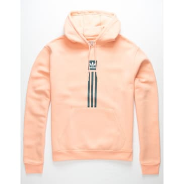 Adidas Solid Pillar HD Hoodie Gold Pink