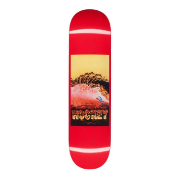 Hockey Donovon Piscopo Silver Surfer Skateboard Deck - 8.38""