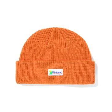 "BUTTER GOODS-""EQUIPMENT WHARFIE BEANIE""(RUST)"